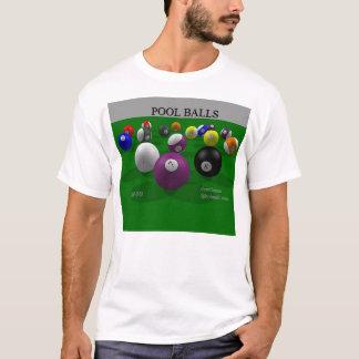玉突の玉(前部) Tシャツ