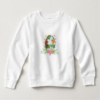 王および女王の幼児のフリースのスエットシャツ スウェットシャツ