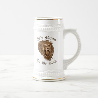 王であることはLion Beerステインよいです ビールジョッキ