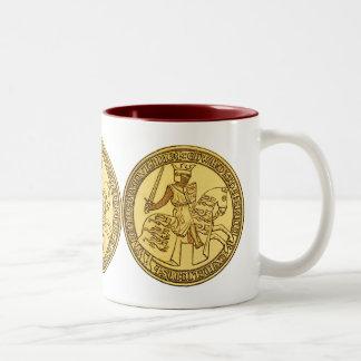 王のエドワードシールI ツートーンマグカップ
