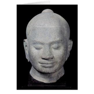 王のスタイルのJayavarman VII Bayon頭部 カード