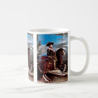 王のフィリップ乗馬のポートレートスペインのIV コーヒーマグカップ