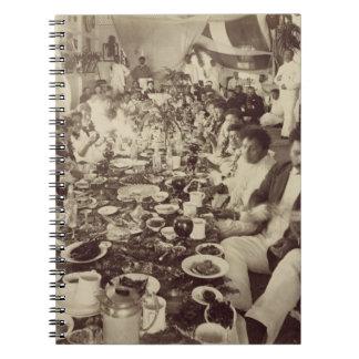 王のボートハウス、c.187のKalakana's王室のな宴会 ノートブック