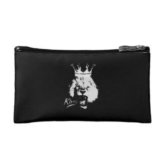 王のライオン コスメティックバッグ