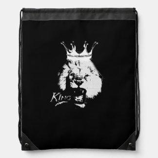 王のライオン ナップサック