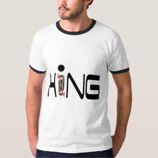 王の一つはめの宝石のTシャツ Tシャツ