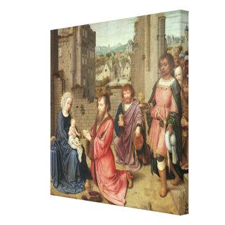王の崇敬、1515年 キャンバスプリント