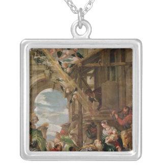 王の崇敬、1573年 シルバープレートネックレス