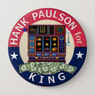 王の4インチボタンのためのポールソン 缶バッジ