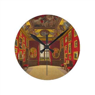 王のClosetの「王室のなResからのWindsorの城、 ラウンド壁時計