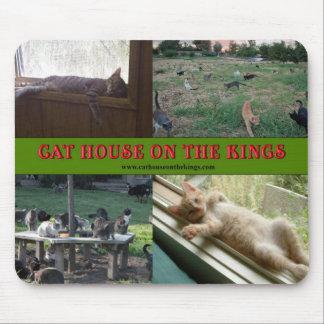 王のMousepads猫の家 マウスパッド