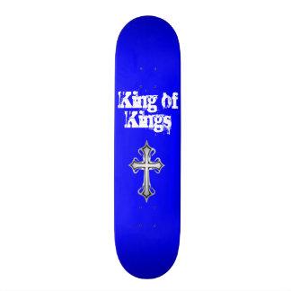 王のSkateboard Deck青い王 スケートボード