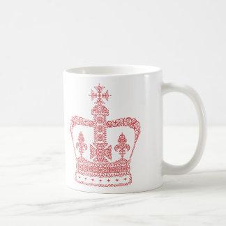 王または女王の王冠 コーヒーマグカップ