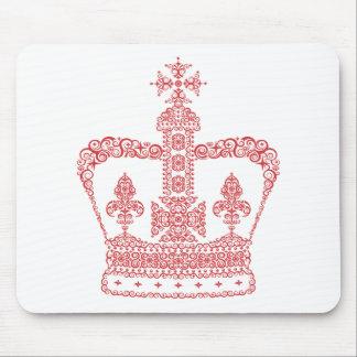 王または女王の王冠 マウスパッド