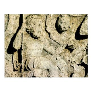 王を描写するPriamおよびHecubaフリーズ ポストカード