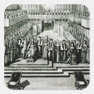 王ジェイムズ二世およびメリー女王の即位 スクエアシール
