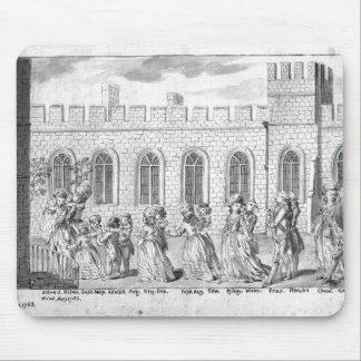 王ジョージ三世およびシャーロット女王 マウスパッド