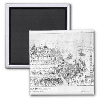 王ヘンリー八世によるブローニュの包囲 マグネット