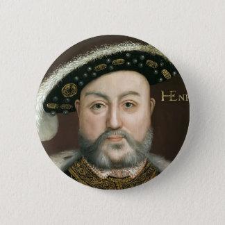 王ヘンリー八世 5.7CM 丸型バッジ