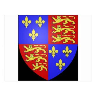 王ヘンリーTUDORの紋章付き外衣VIII. ポストカード
