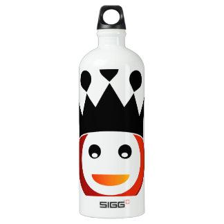 王冠との幸せなスマイリー ウォーターボトル