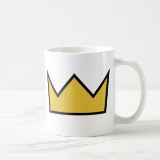 王冠のマグ コーヒーマグカップ