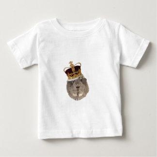 王冠のモルモット ベビーTシャツ