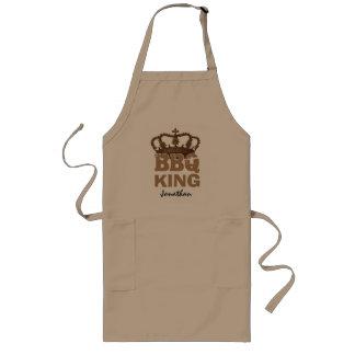王冠の名前をカスタムするB02を用いるおもしろいなBBQ王 ロングエプロン