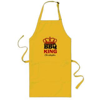 王冠の名前をカスタムするB03を用いるおもしろいなBBQ王 ロングエプロン