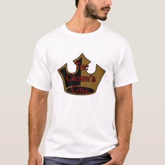 王冠の呼出しロゴのTシャツ Tシャツ