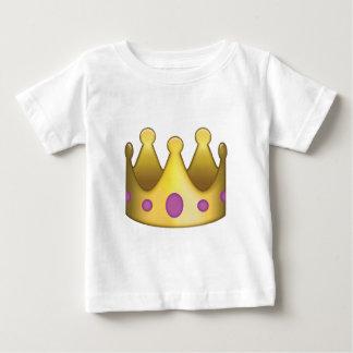 王冠のemoji ベビーTシャツ