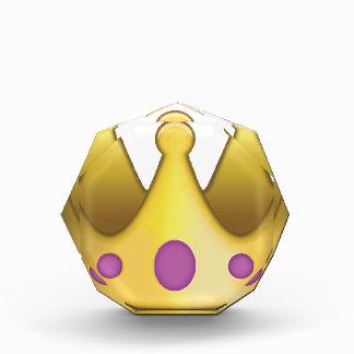 王冠のemoji 表彰盾