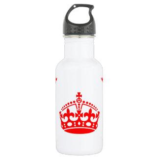 王冠パターン ウォーターボトル