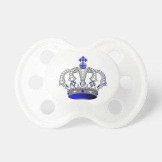 王冠0-6か月のベビーのBooginHead®の調停者王の おしゃぶり
