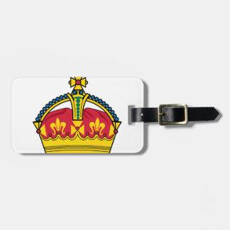 王冠 ラゲッジタグ