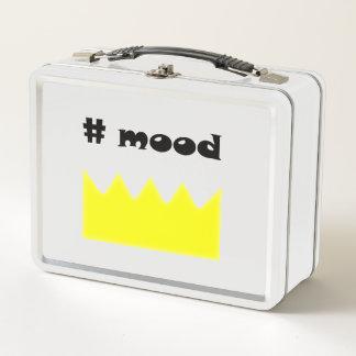 王冠-気分-女王-王 メタルランチボックス