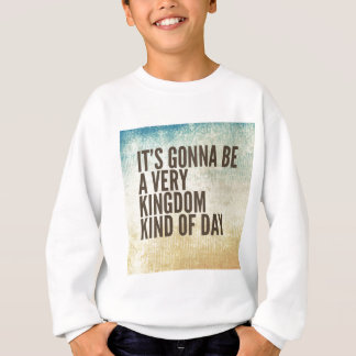 王国ちょっと日 スウェットシャツ