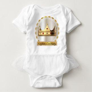 王国のコミュニティ王冠2 ベビーボディスーツ