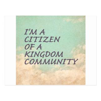 王国のコミュニティ ポストカード