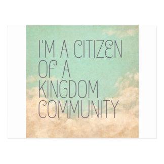 王国の市民 ポストカード