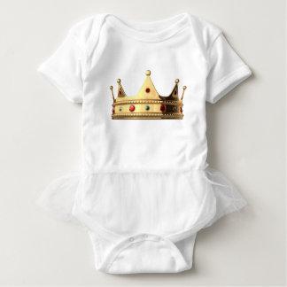 王国の王冠 ベビーボディスーツ