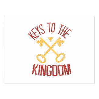 王国への鍵 ポストカード