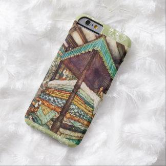 王女およびエンドウ豆のおとぎ話の絵 BARELY THERE iPhone 6 ケース