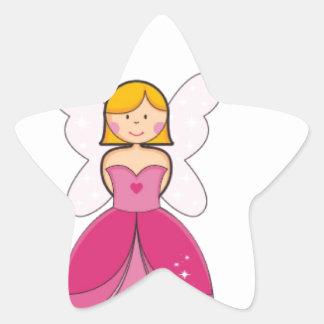 王女のように 星シール