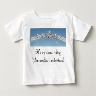 王女の事 ベビーTシャツ