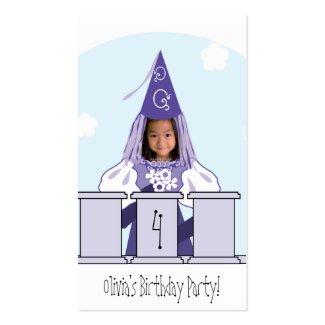 王女パーティの記念品の札 profilecard