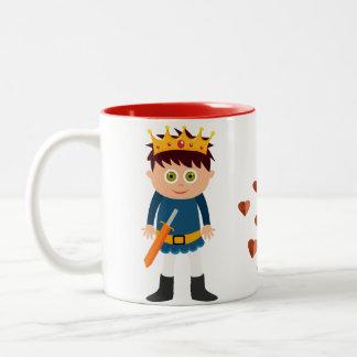 王子および王女マグ ツートーンマグカップ