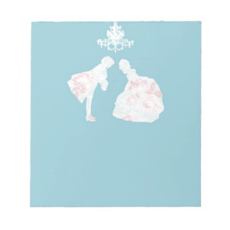 王子および王女 ノートパッド