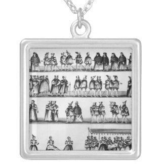 王子のアーサー《キリスト教》洗礼式や命名式の行列 シルバープレートネックレス