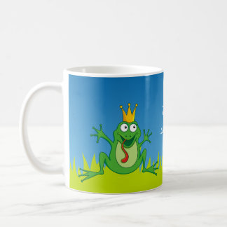 王子のカエル コーヒーマグカップ